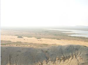 Panoramica de la guajira vista desde el Pilón de Azúcar
